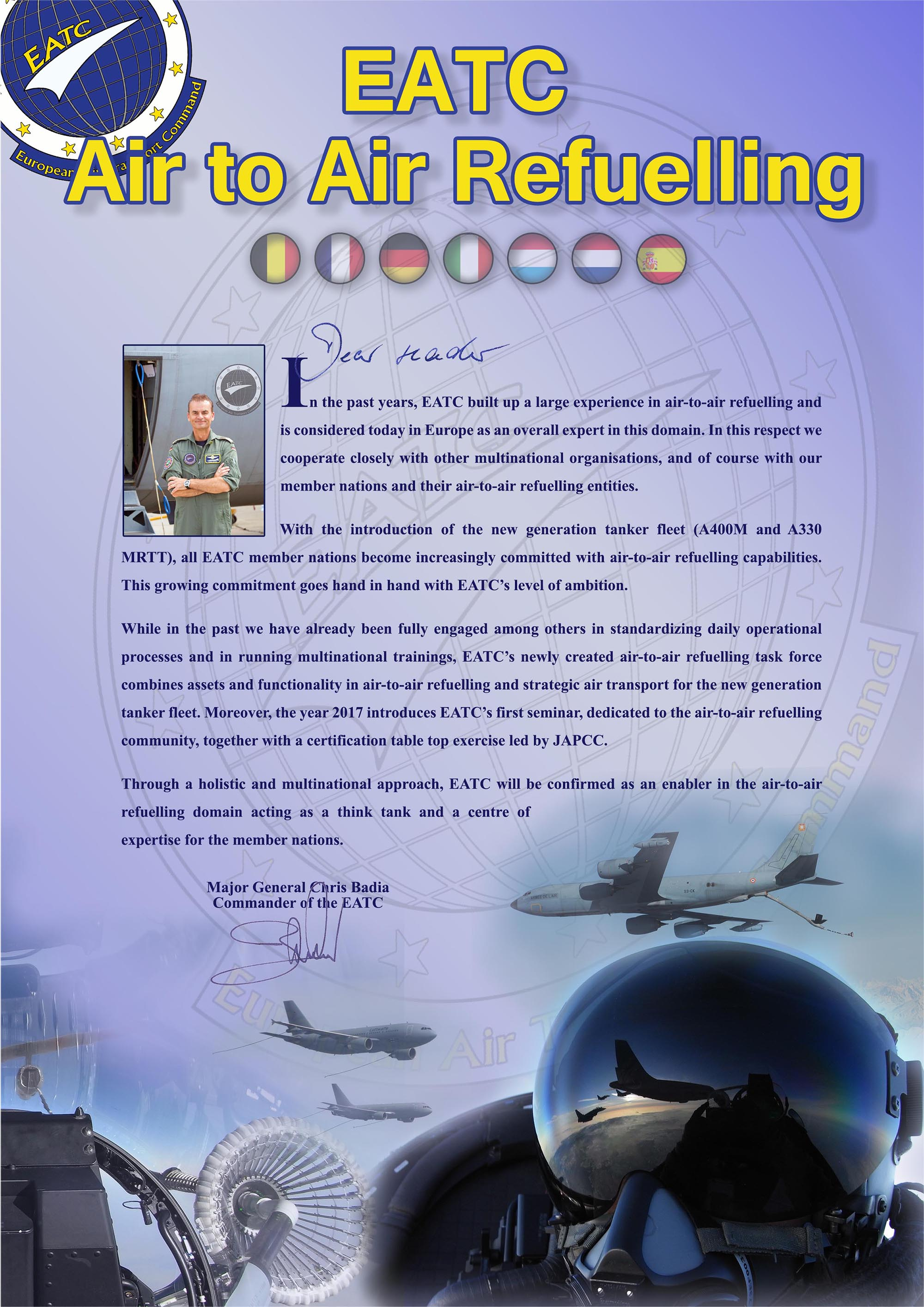 The new EATC AAR leaflet