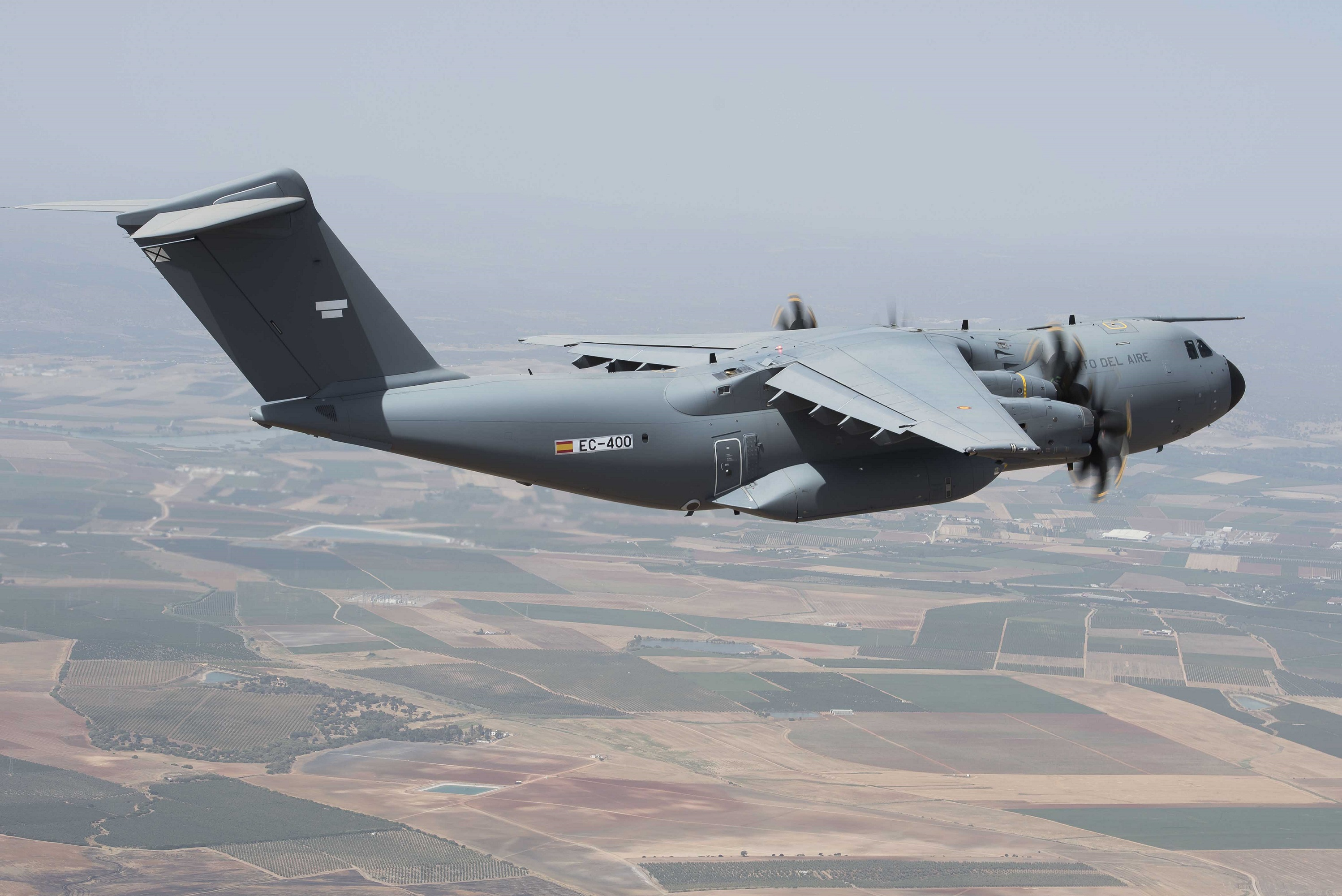 Spain transfers authority of its first A400M to EATC