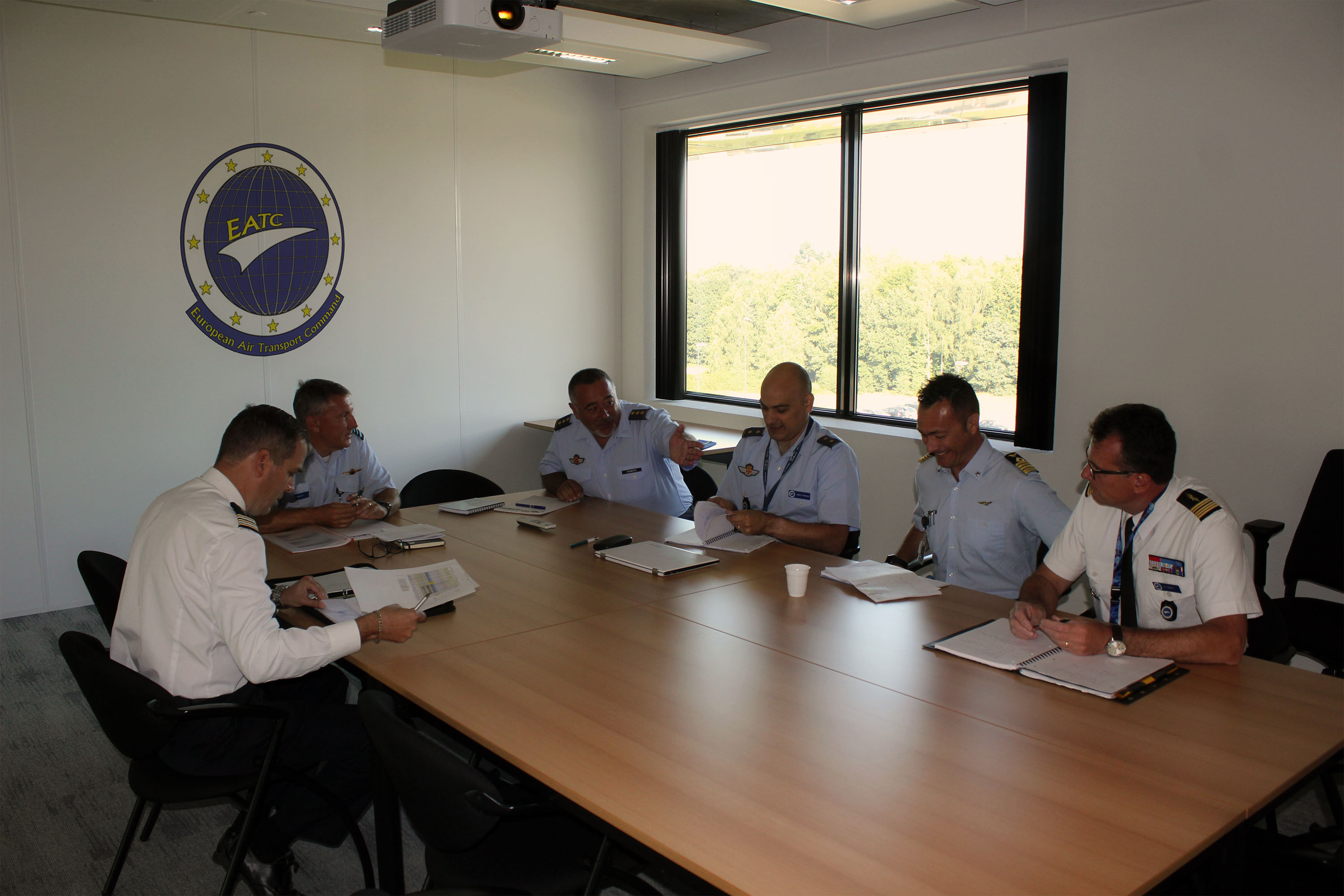 European Tactical Airlift Centre (ETAC) visits EATC