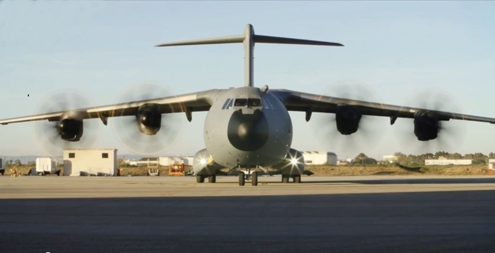 First German A400M in Sevilla