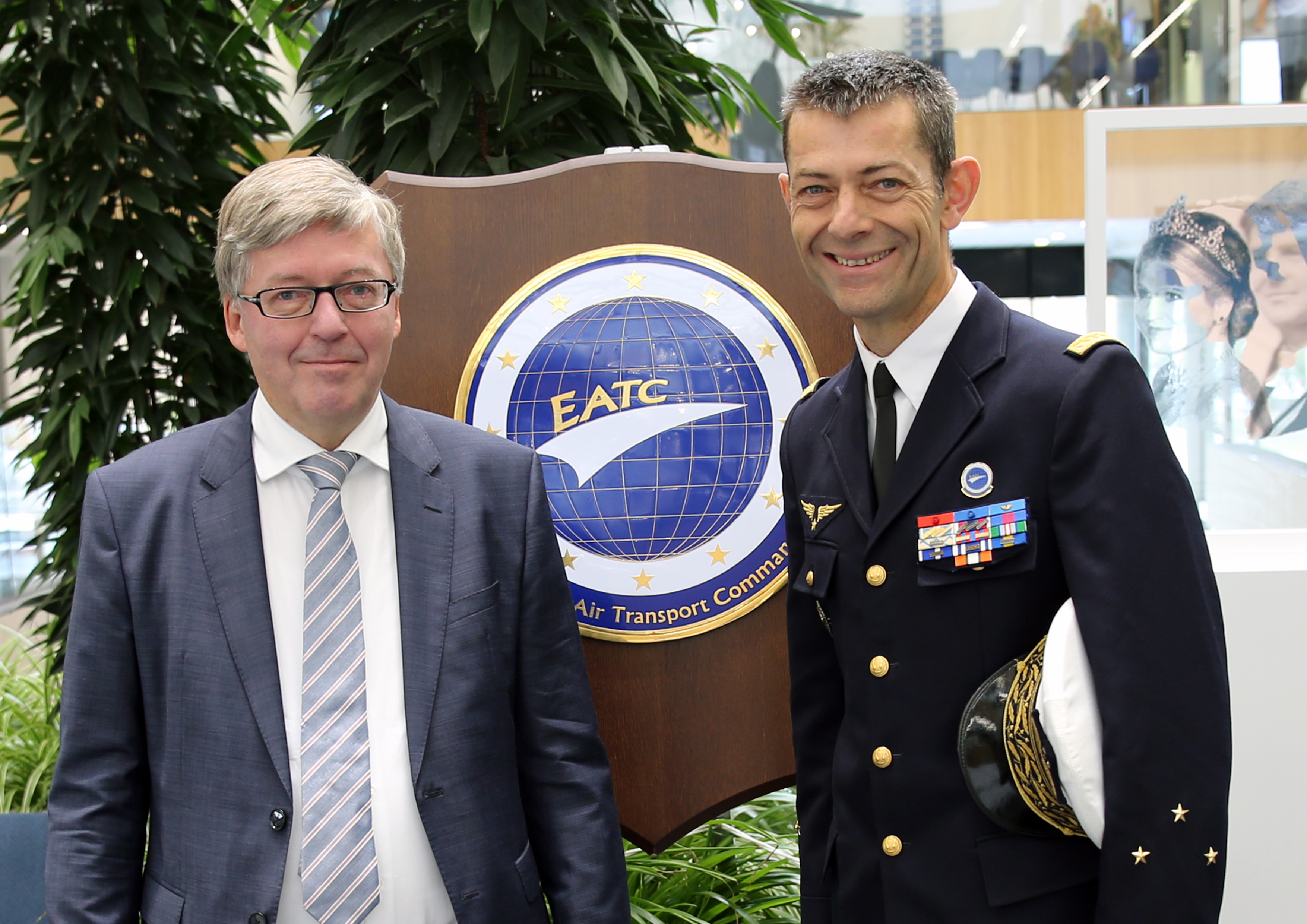 The Parliamentary Commissioner for the Armed Forces of the German Bundestag visits EATC