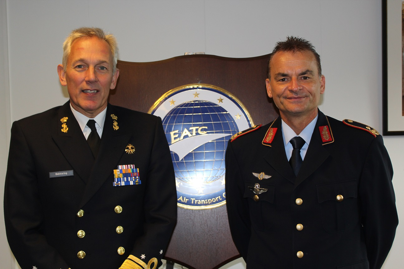 DUTCH MILITARY REPRESENTATIVE TO NATO AND EU VISITS EATC