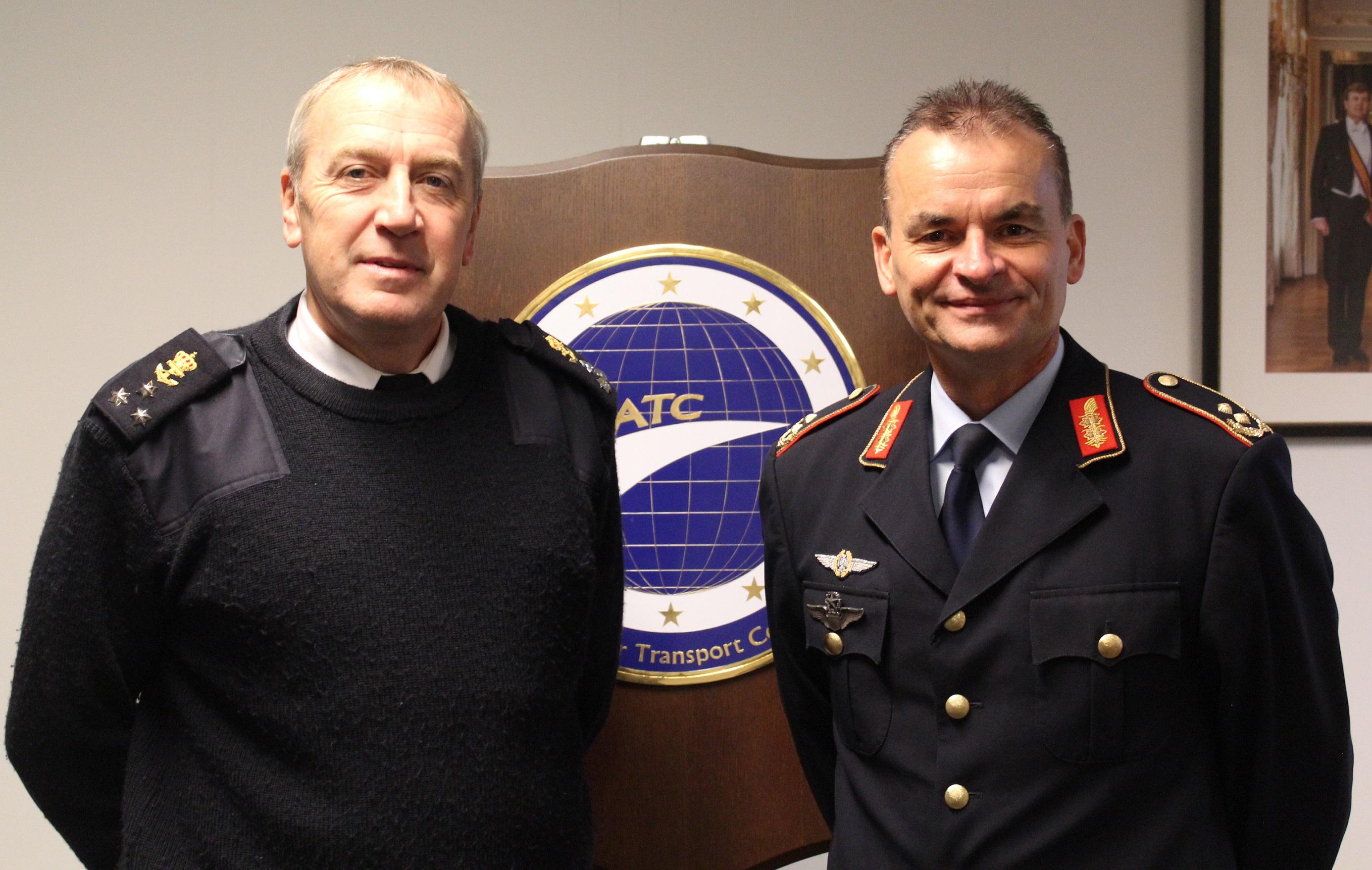 BELGIUM VICE CHIEF OF DEFENCE VISITS EATC