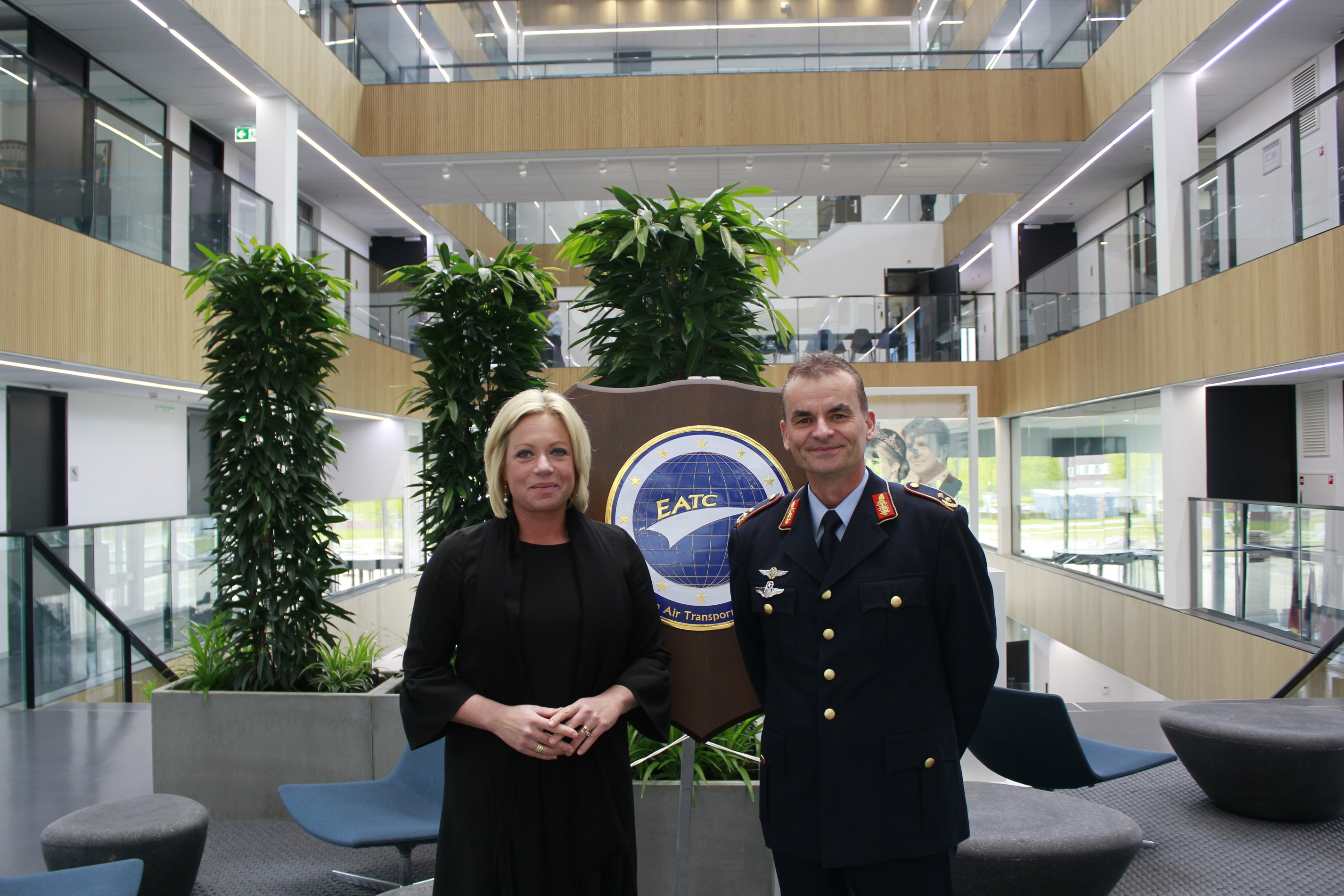 Minister of Defence of the Netherlands at EATC