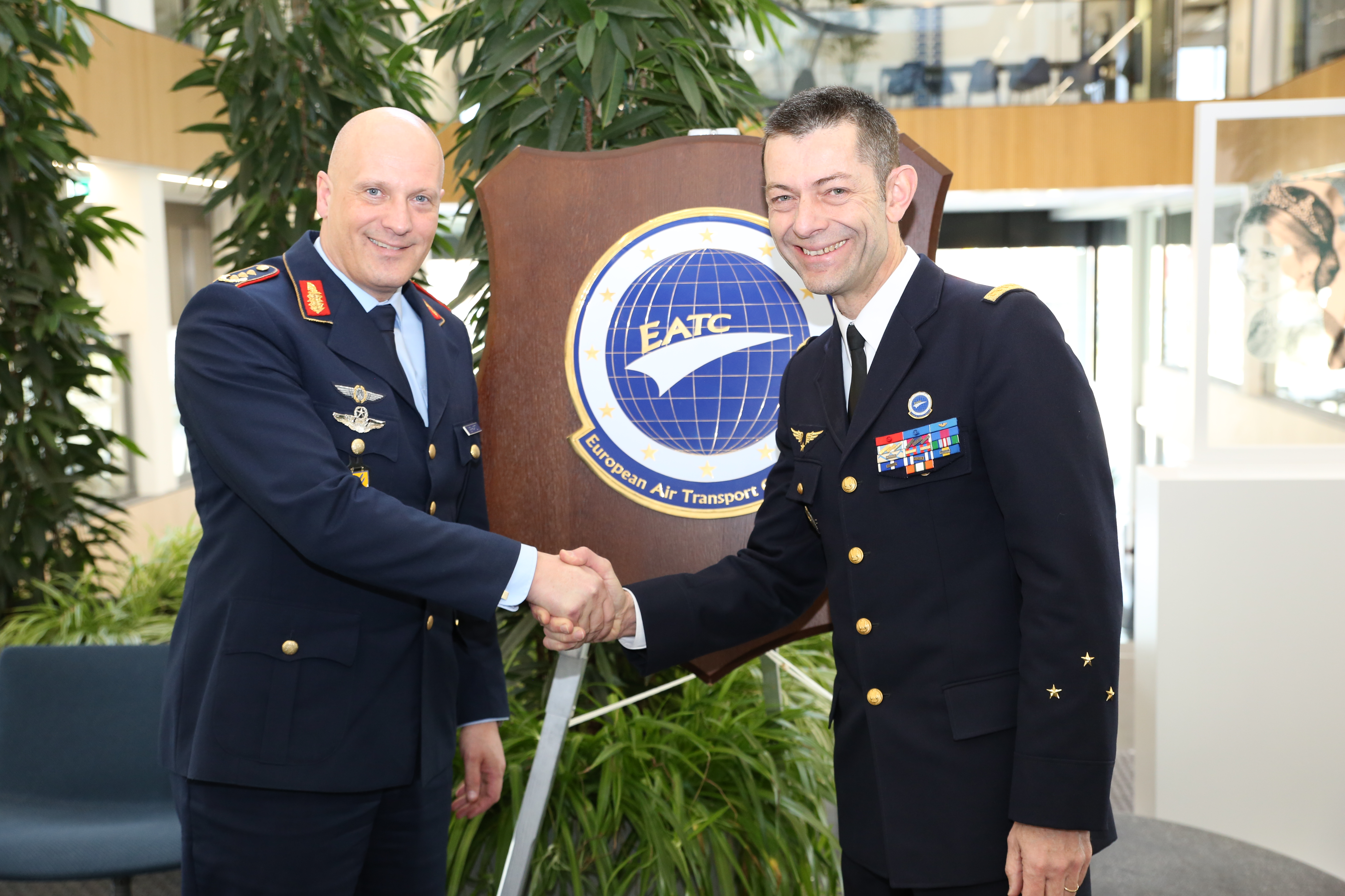 The Chief of Staff of the German Air Force visits EATC.