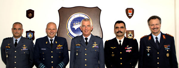 Representatives of the Military Air Transport Committee meeting at the EATC