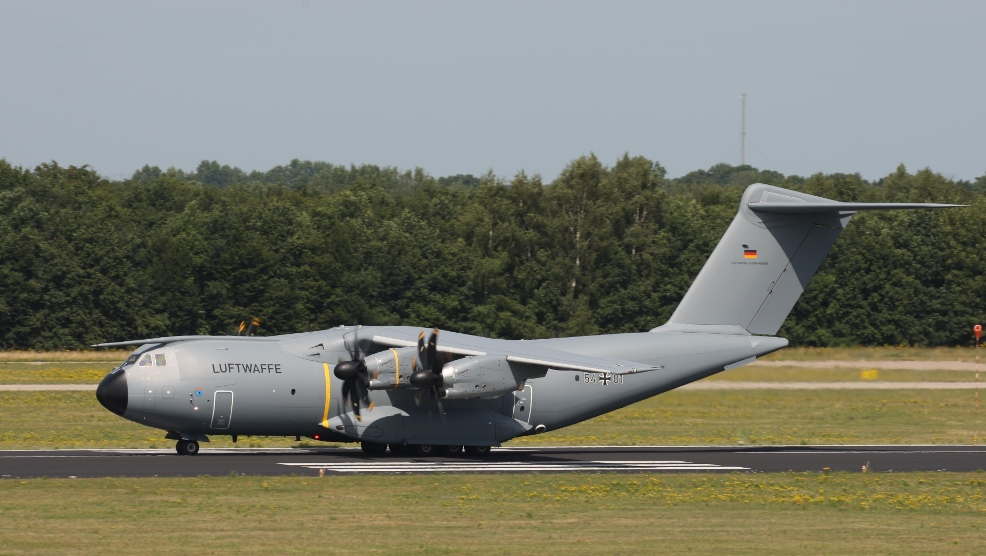 EATC mission worldwide with German A400M