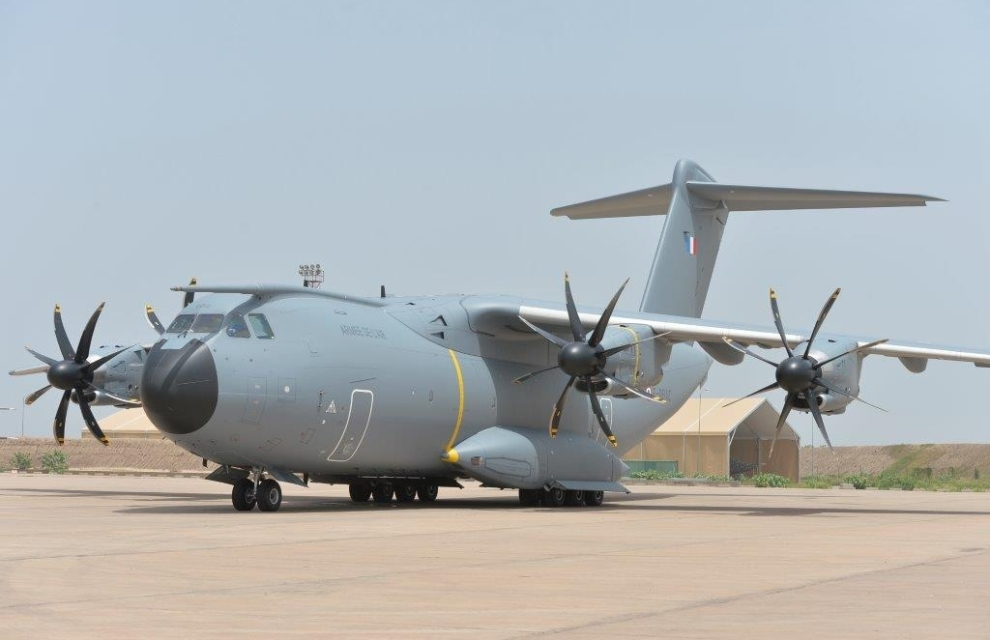 First mission to Africa for French fifth A400M under EATC OPCON
