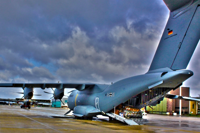 First German A400M mission abroad