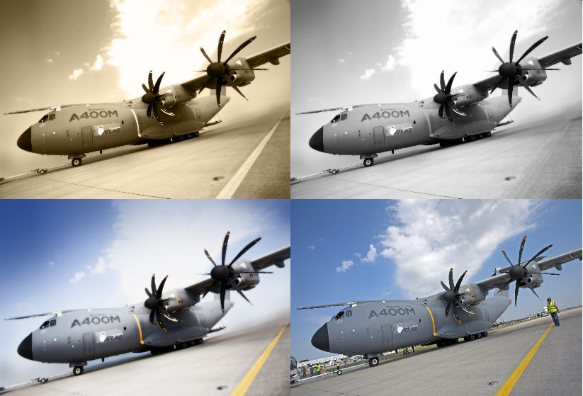 A400M collage