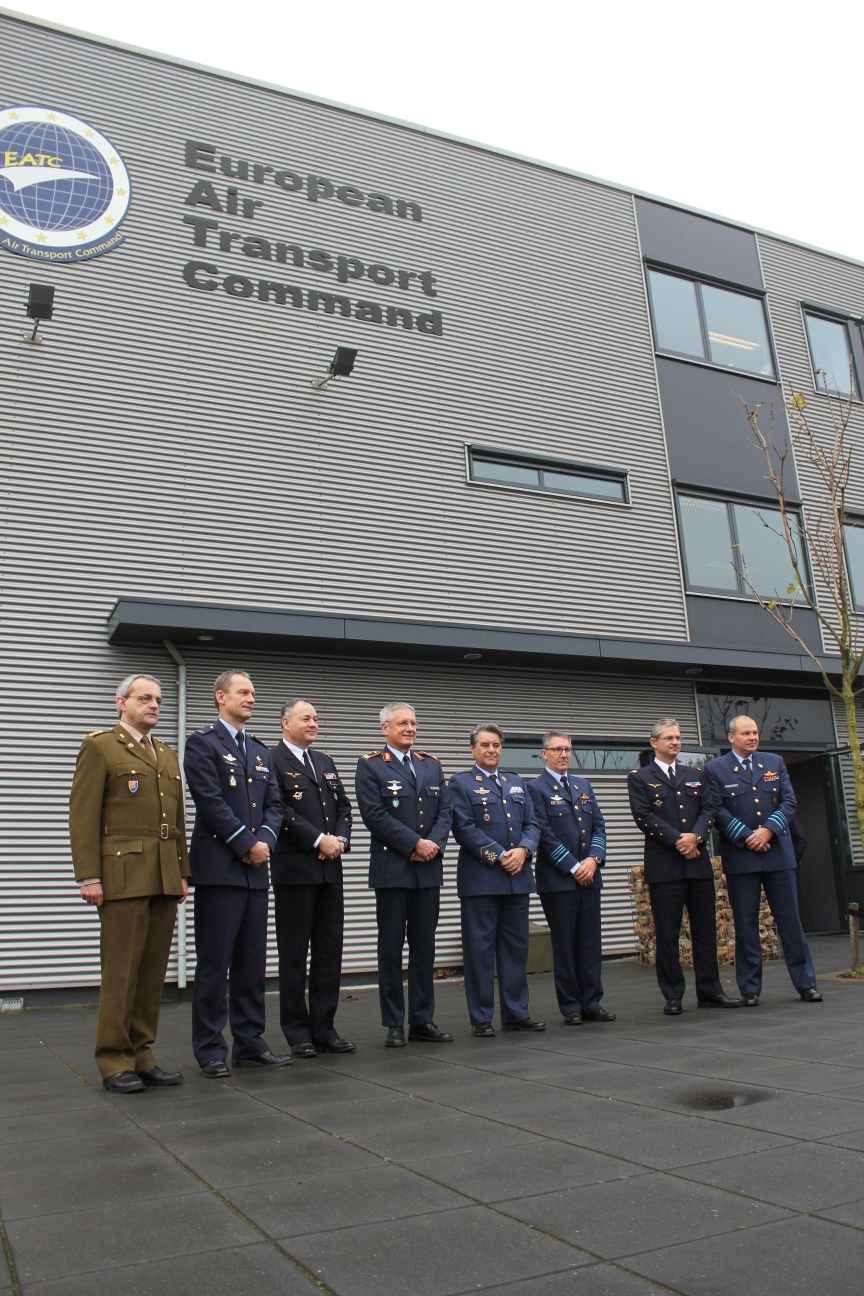 Air Chiefs and official representatives