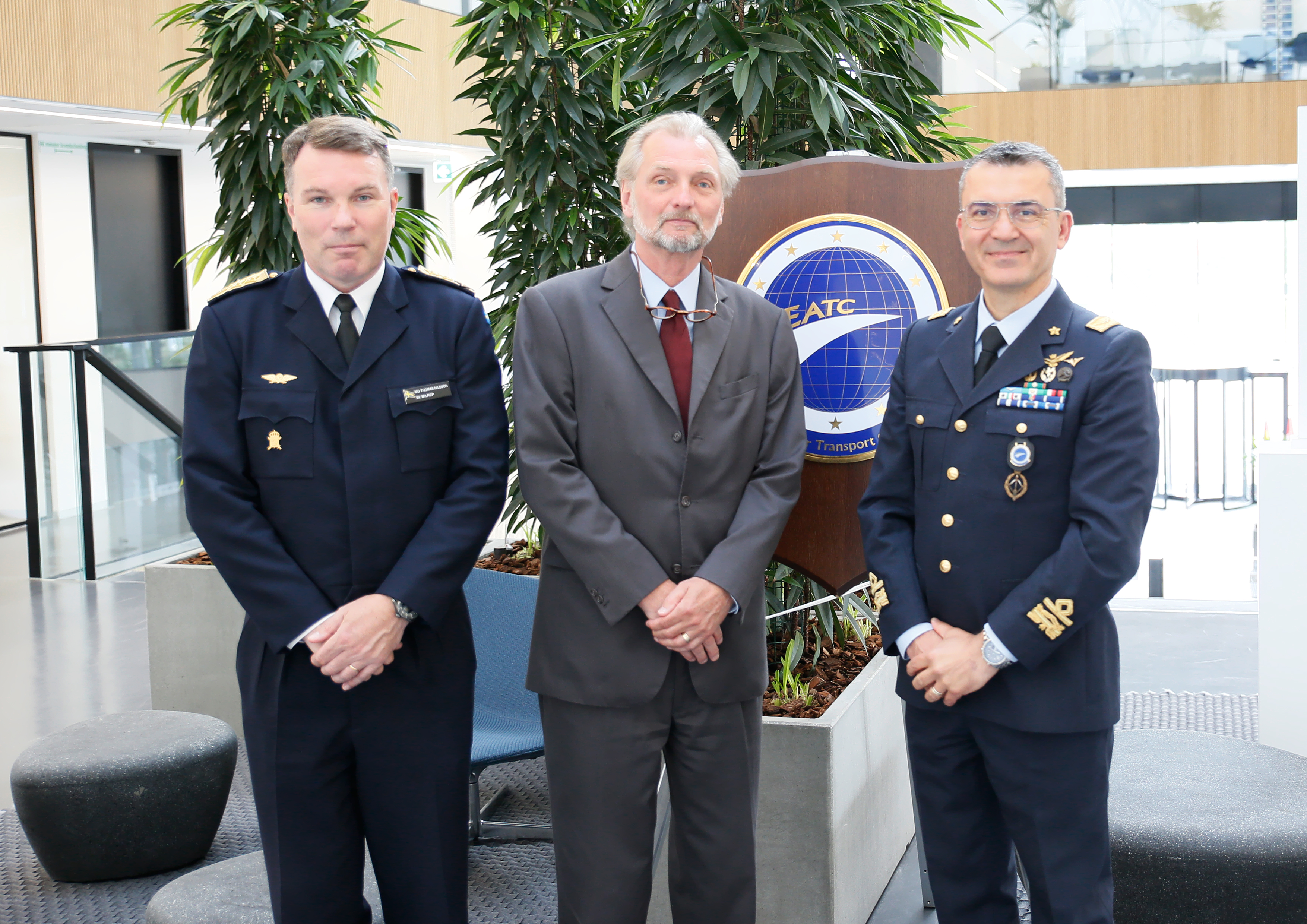 Head of Mission of Sweden to NATO visited EATC