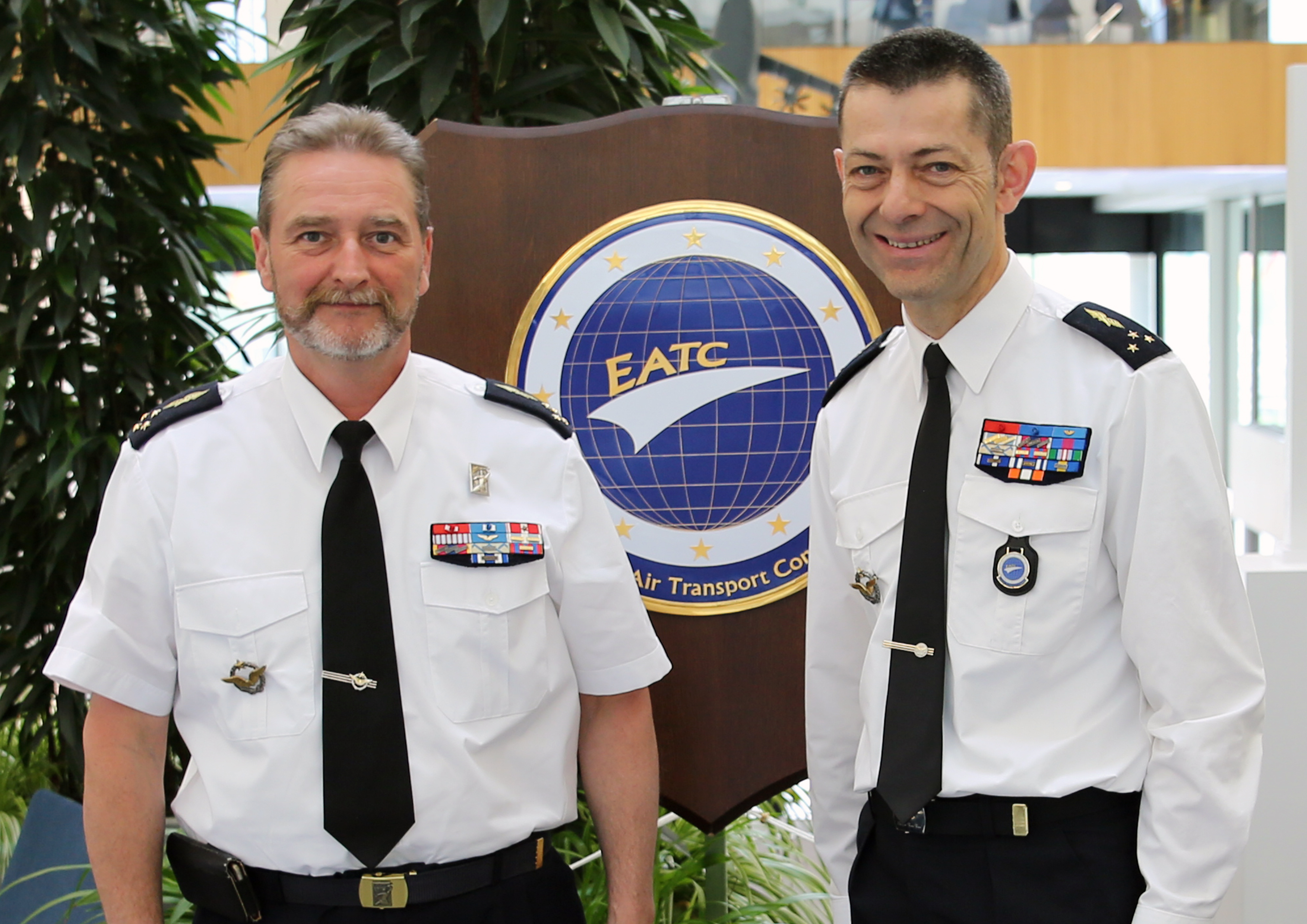 The French Air Defence and Air Operation Commander visits EATC