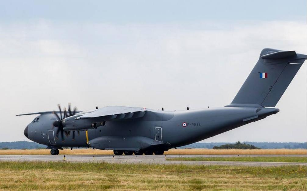 First A400M mission under operational control