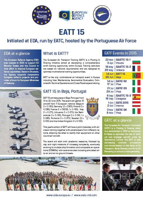 EATT 2015 in Beja, Portugal
