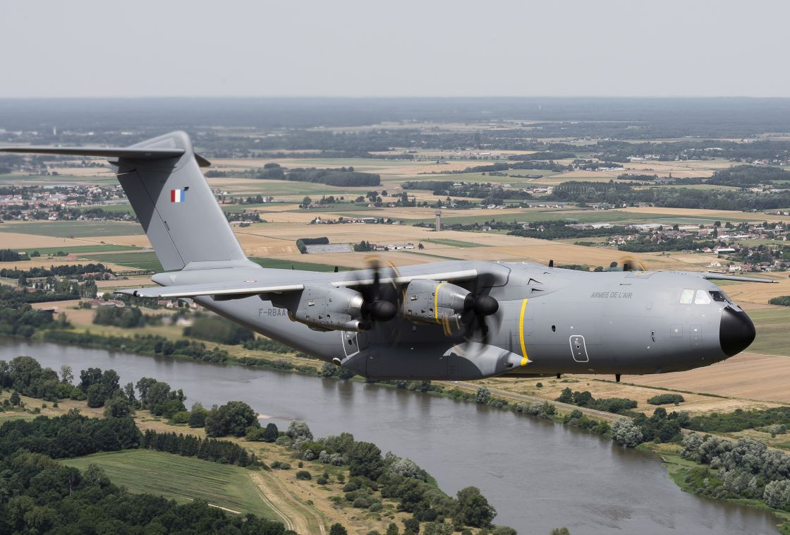A400M operates first time at Volfa