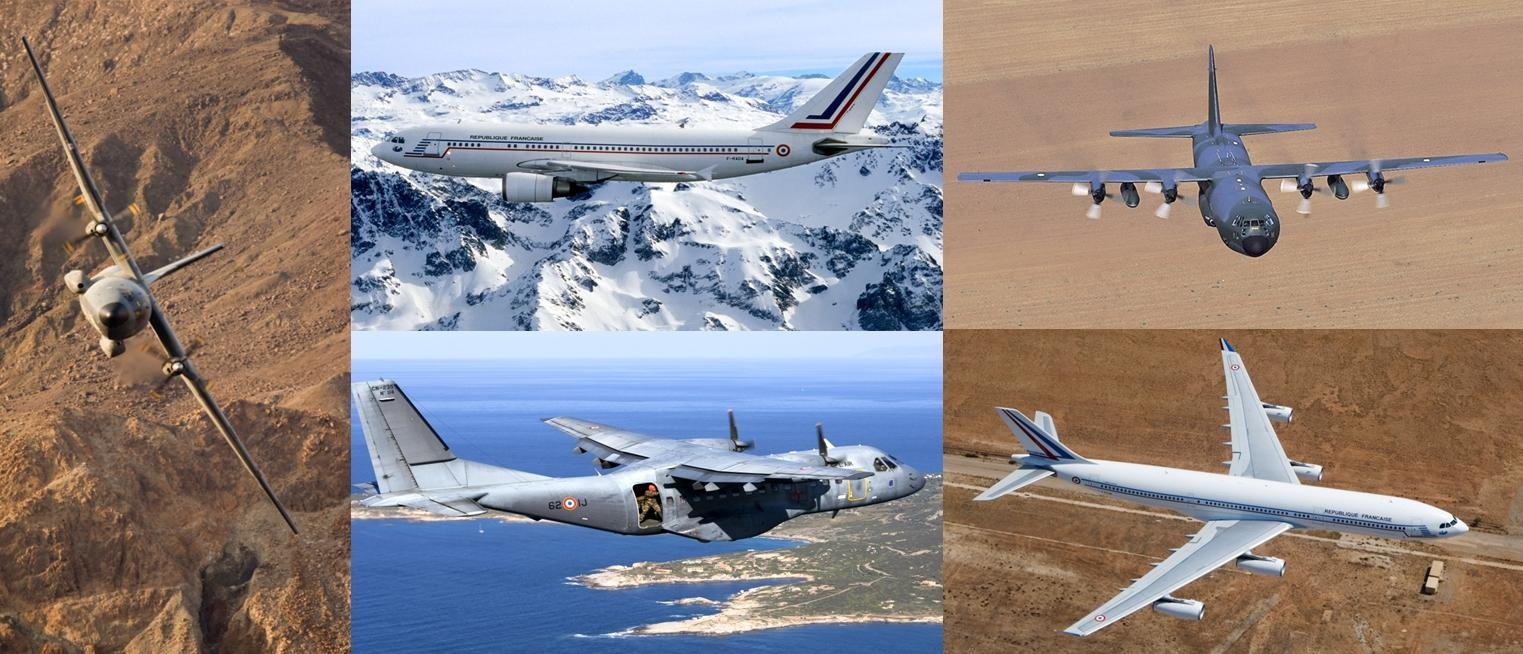 EATC assigned French transport aircraft