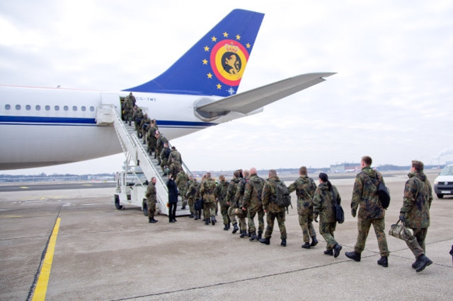 EATC supports deployment into Turkey