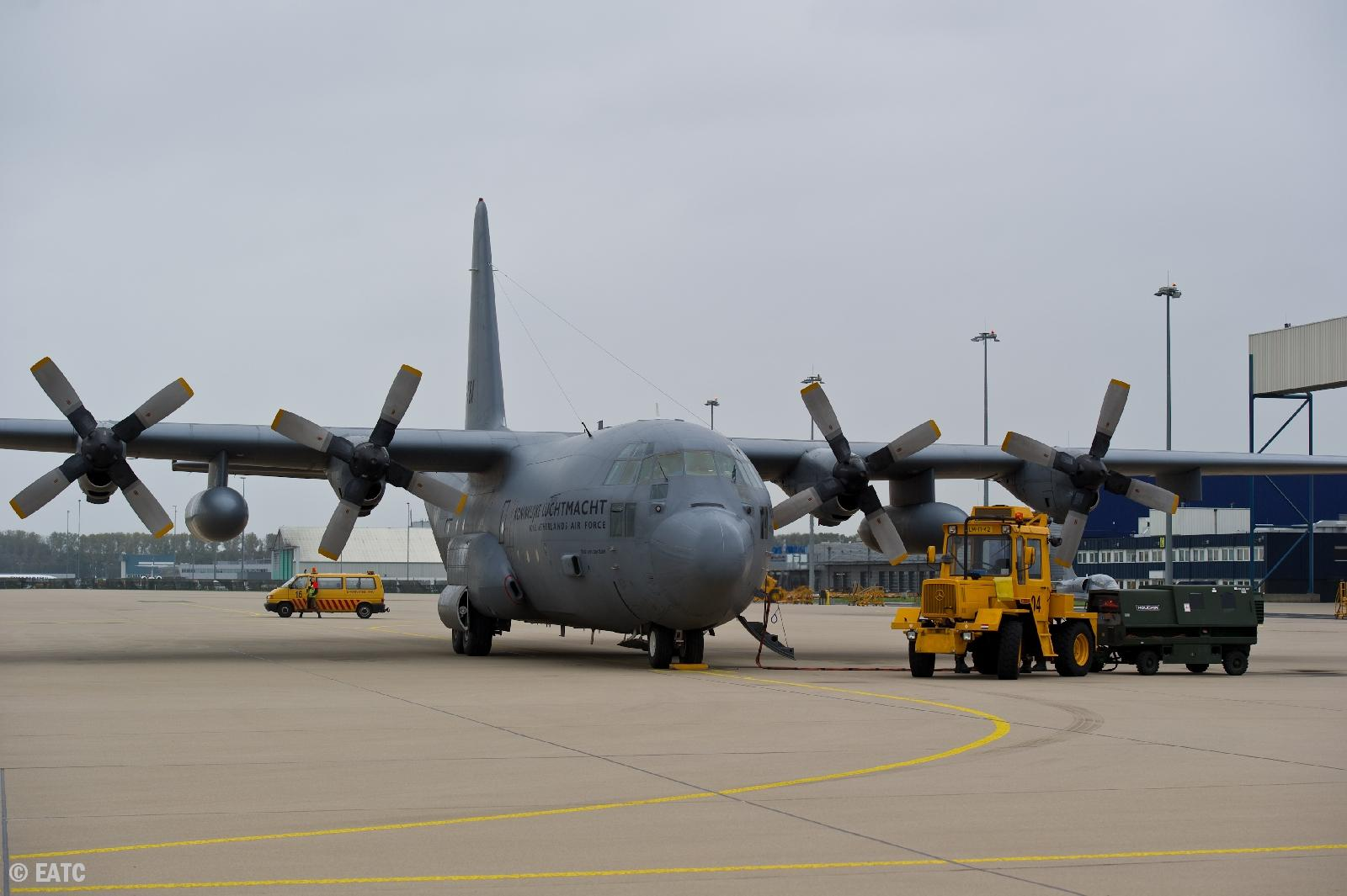 Hercules to be attended by the groundcrew