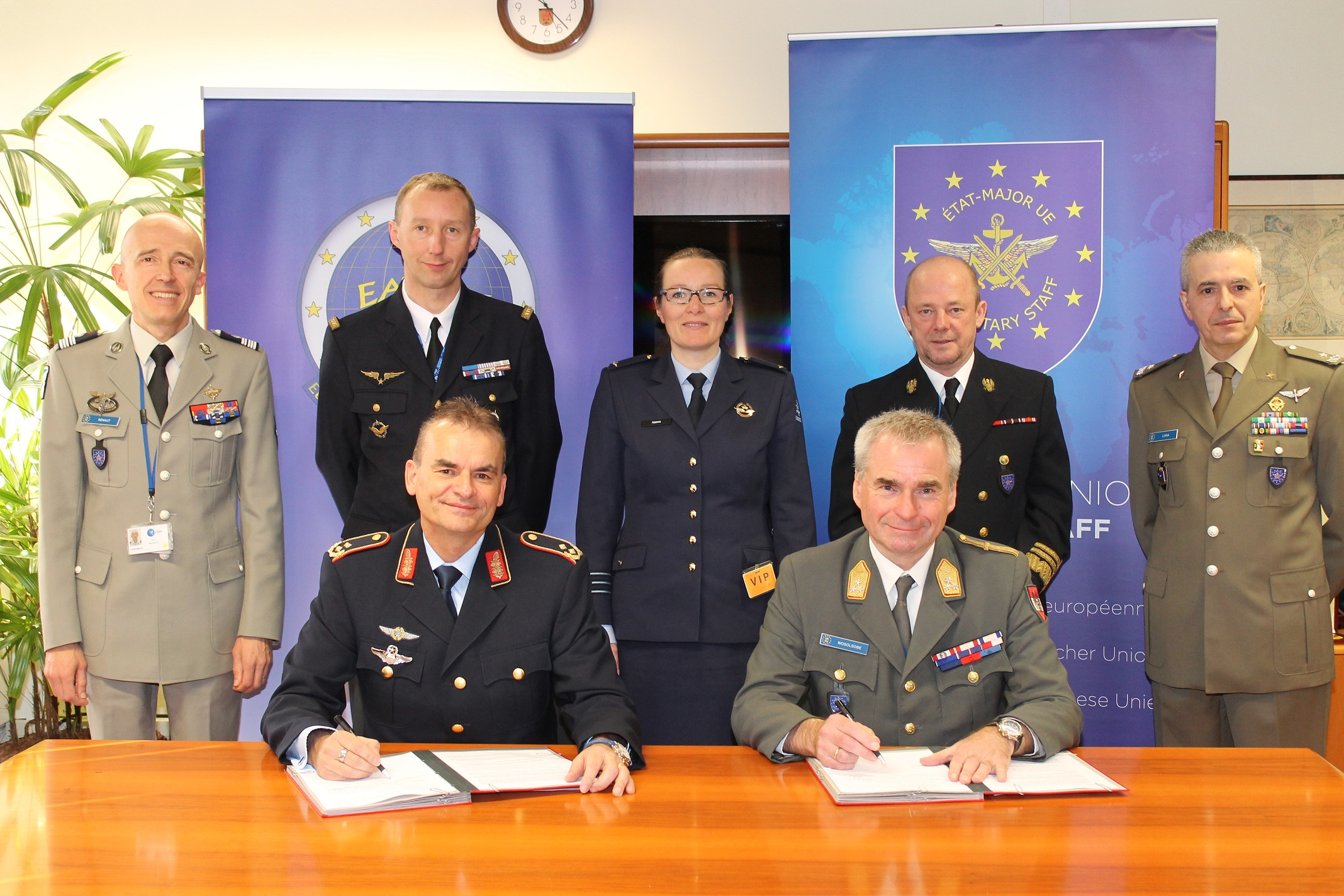 EATC and EUMS are strengthening their cooperation