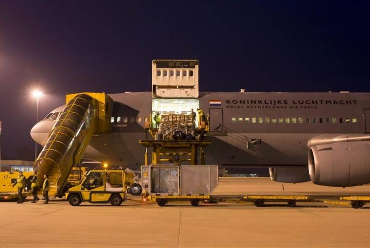 EATC and Dutch Air Force initiate second relief mission