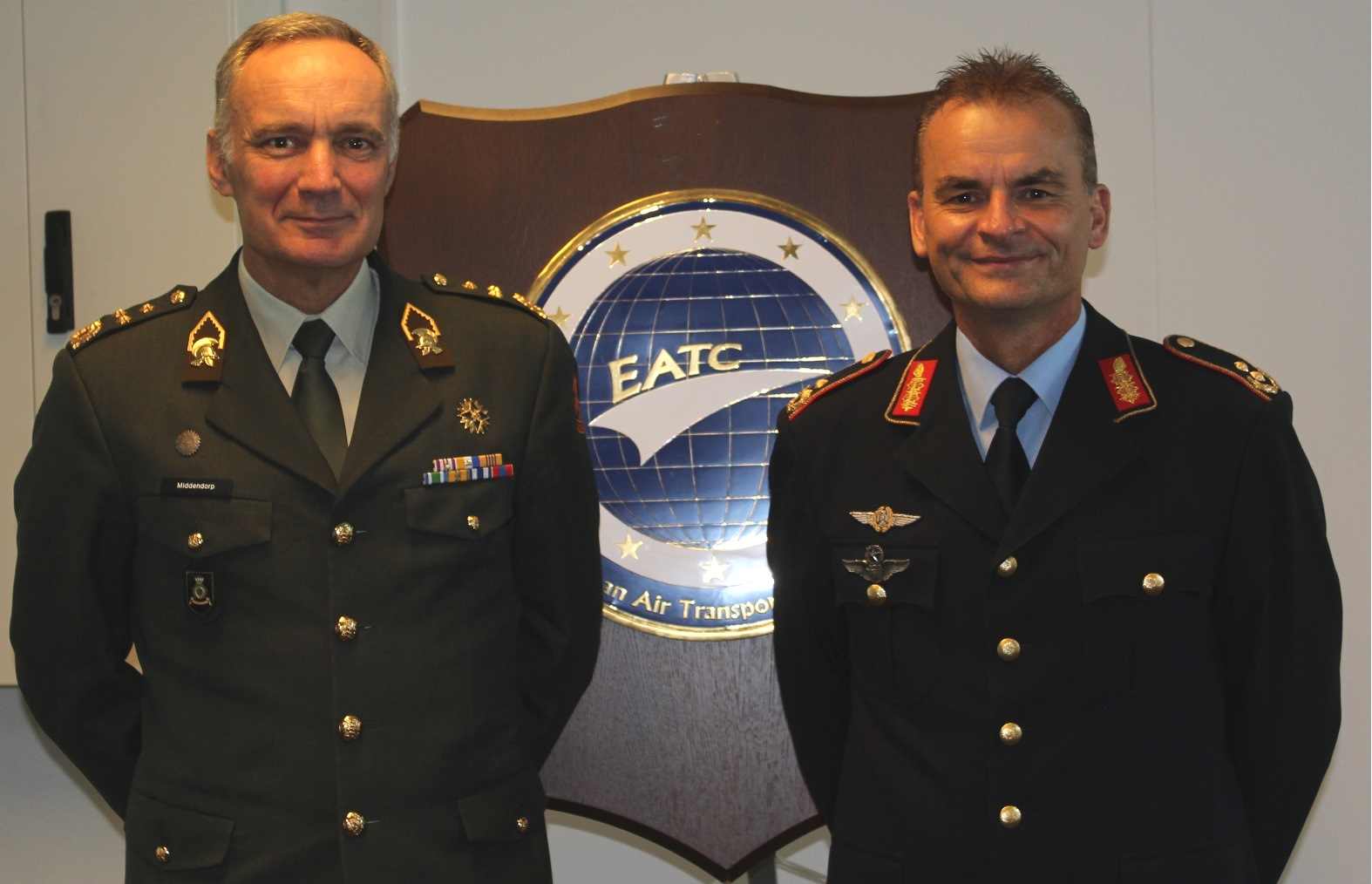 Dutch Chief of Defence visits the EATC