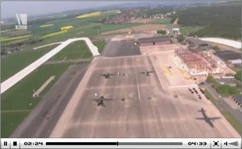 Wunstorf Air Base construction site