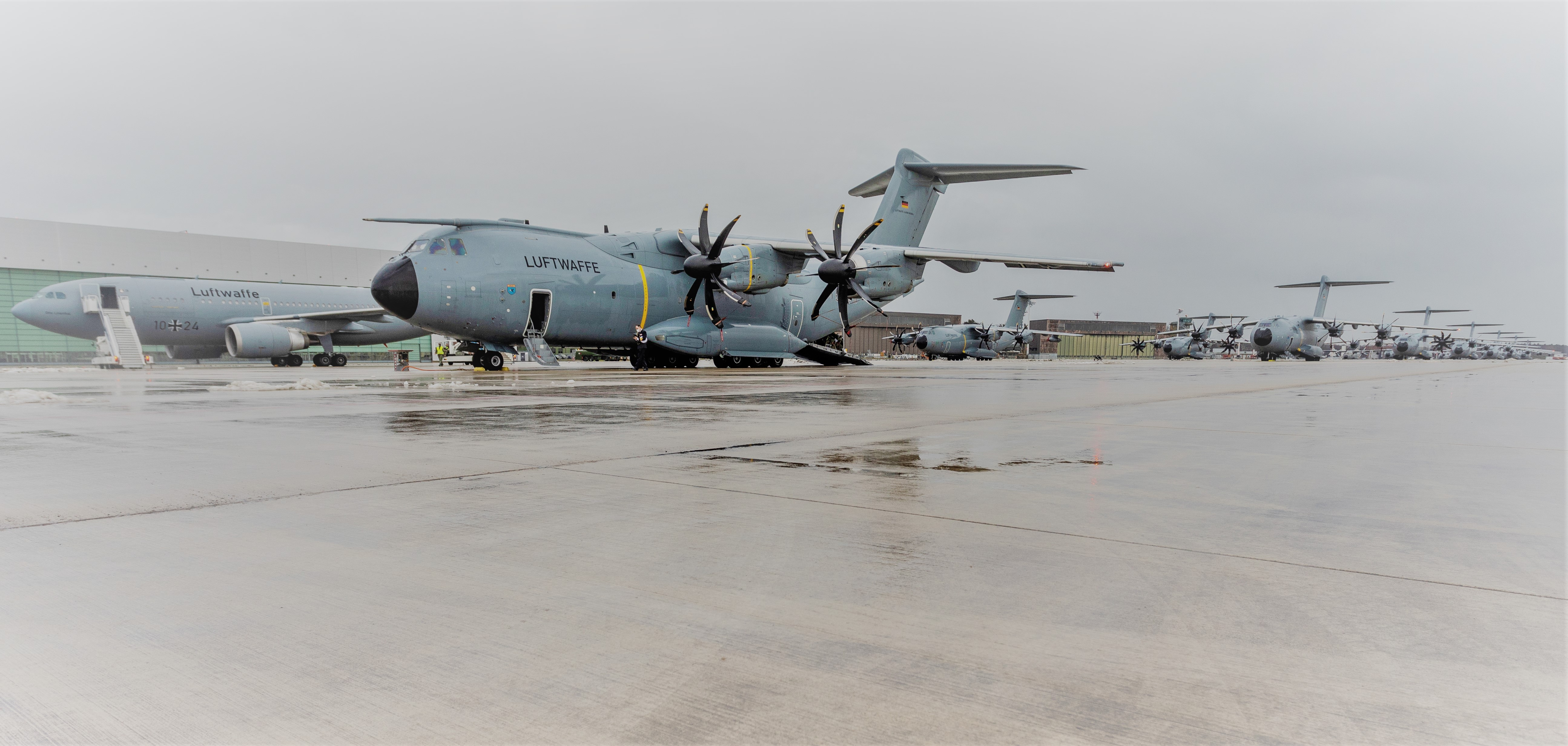 Covid-19 : a German A400M en route to support Portugal in the fight against the pandemic
