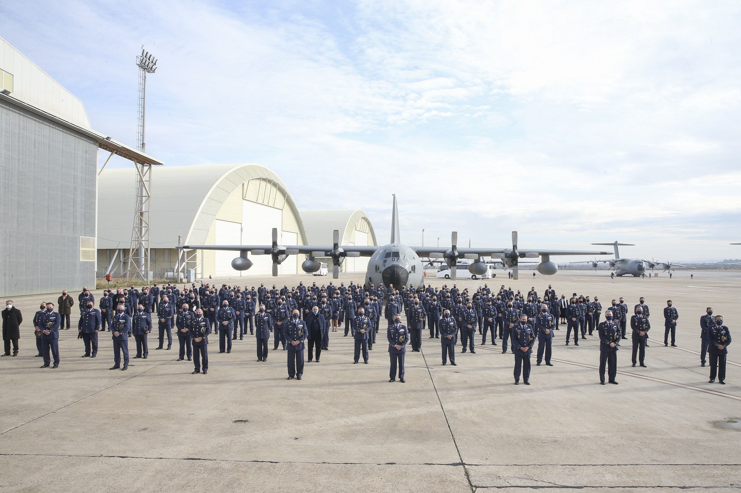 "The ""Dumbo"" era is coming to an end: Spain decommissions the C130 Hercules."