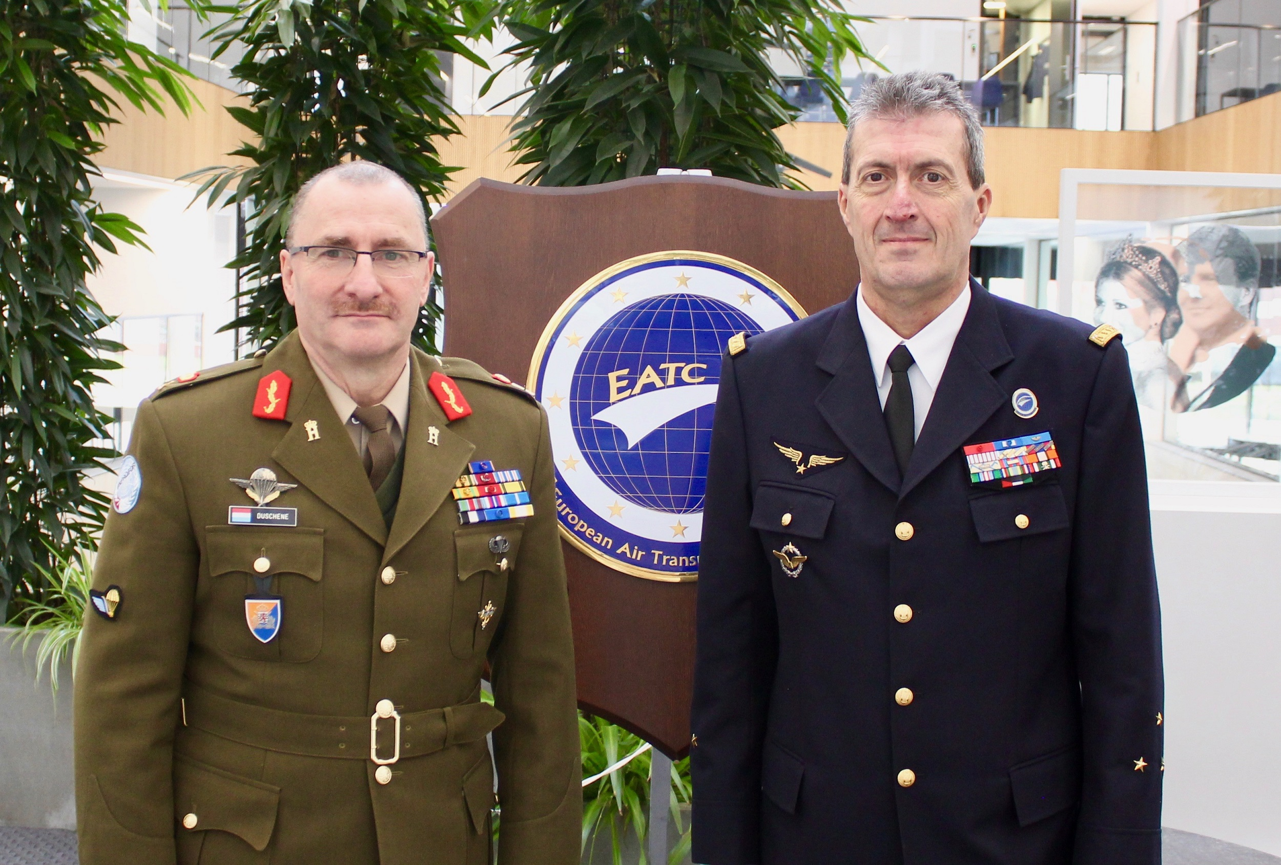 The Luxembourg Chief of Defence visits EATC