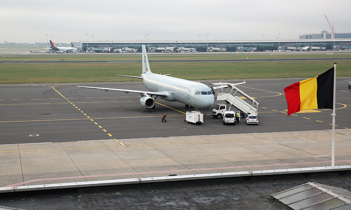 EATC commanded & controlled a Belgian A321 on behalf of Spain for a NATO AIRCOM media flight