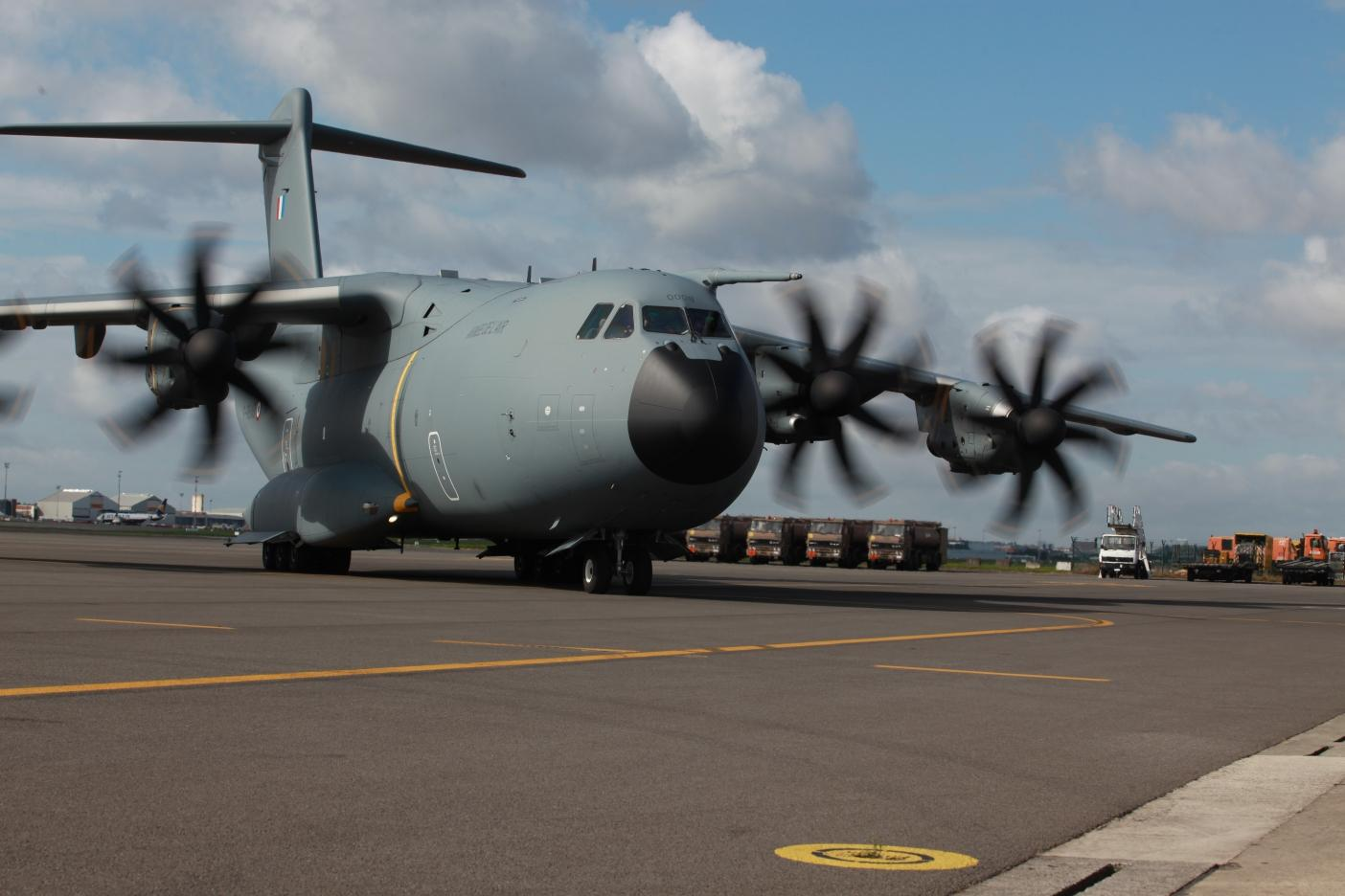 First international A400M mission successfully conducted