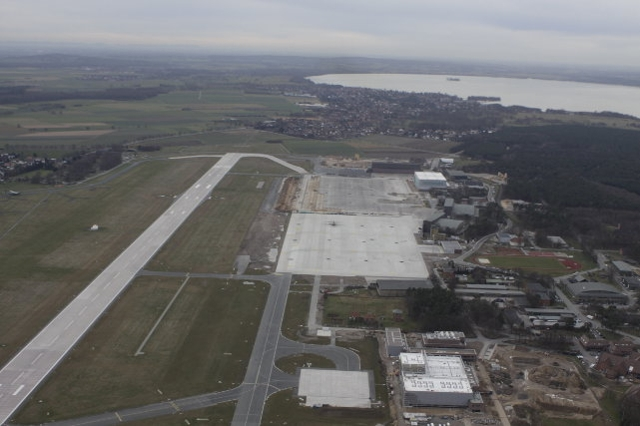 Biggest construction site of the German Air Force