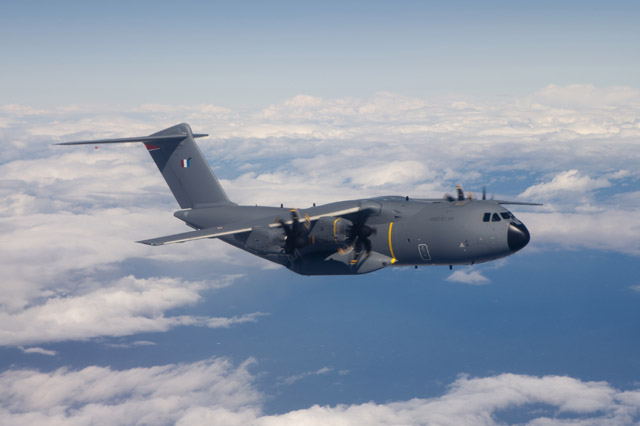 Maiden flight of the first production Airbus A400M