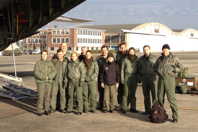 Dutch C-130 ready for new AirMedEvac tasks