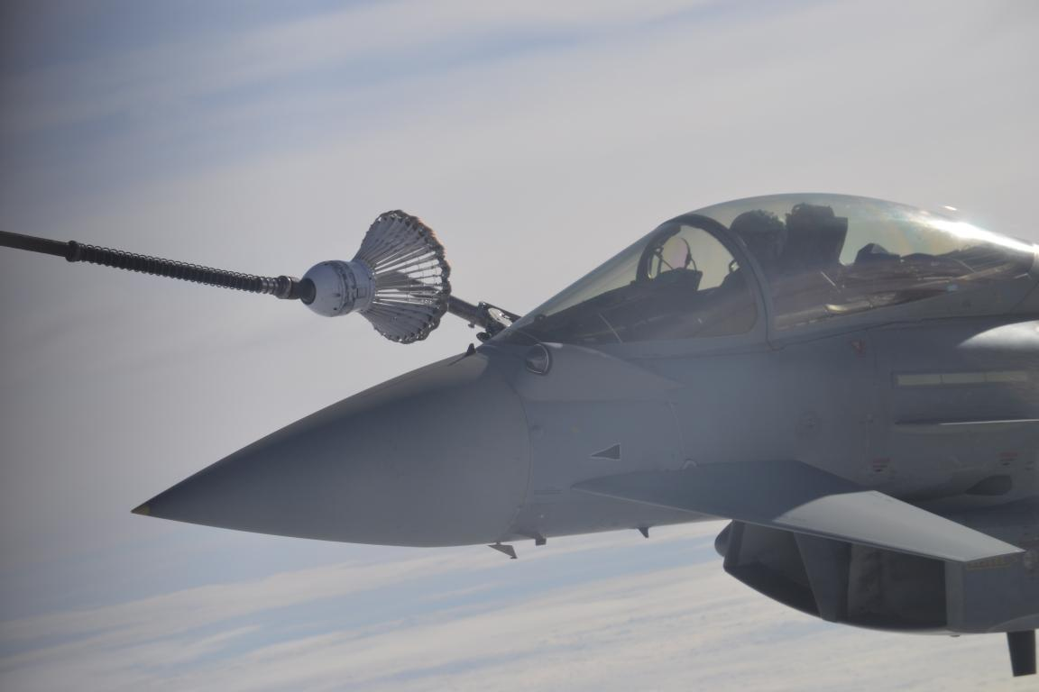 More Pictures of Air-to-Air Refuelling Training EART 2014